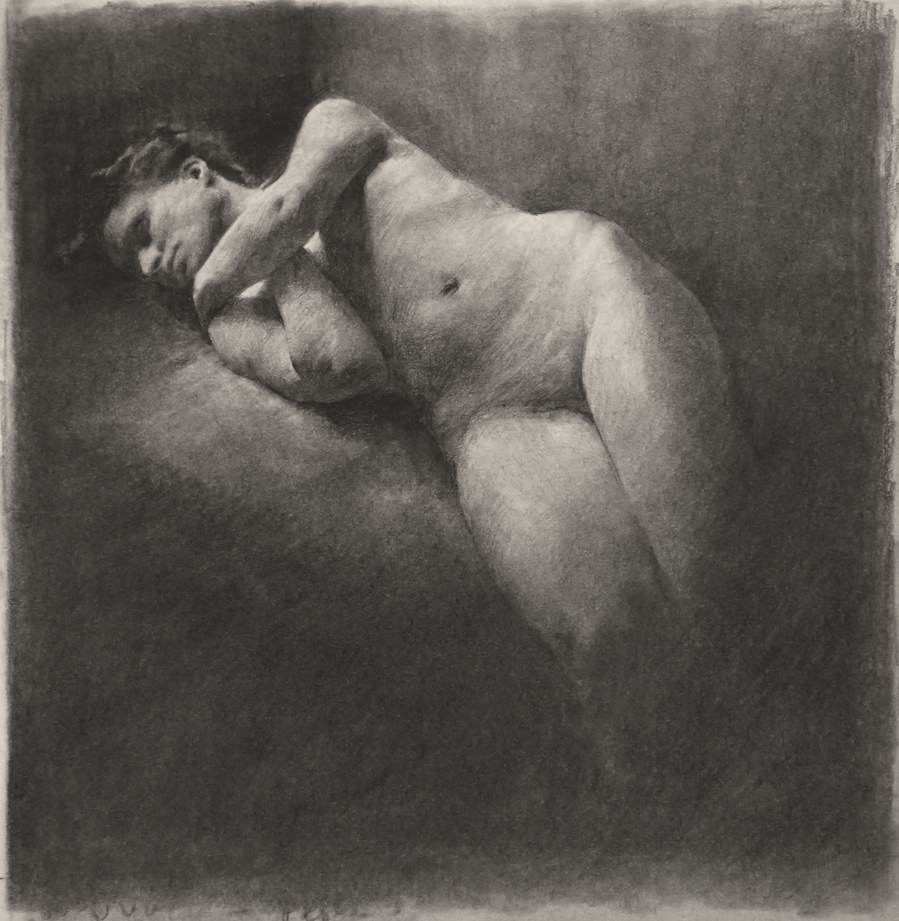 Figure, 2015 pencil on paper