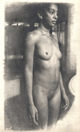 Standing Female Nude (front)