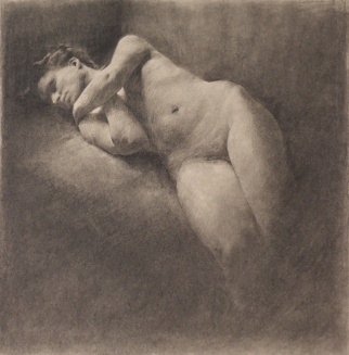 Nude (Study for American Tragedy)