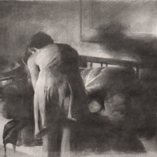 Interior (Study for American Tragedy)